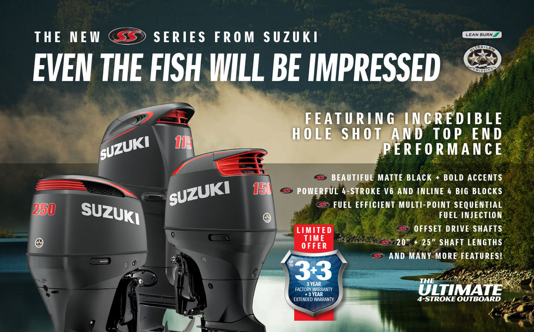 Suzuki outboard, Suzuki motor, SS, bigblock