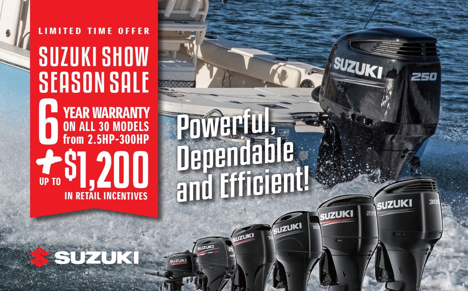 suzuki, suzuki outboard, suzuki motor, evinrude, yamaha, mercury, boat motor