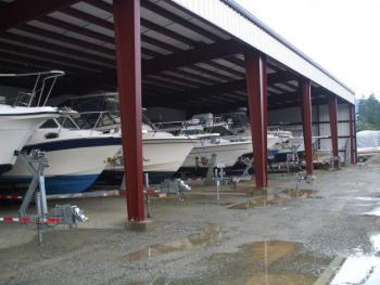 New Boat Storage Building