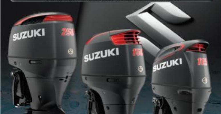 Suzuki, suzuki outboard, SS, big block, matte black