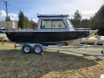 aluminum boat, aluminum fishing, 21', 22', 23', allied, north river, silverstreak, raider