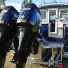 allied, aluminum, silver streak, raider, north river, weldcraft, suzuki, yamaha, evinrude, mercury